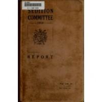1918 - தேசதுரோக குற்றங்களின் அறிக்கை - (ஆங்கிலம்)